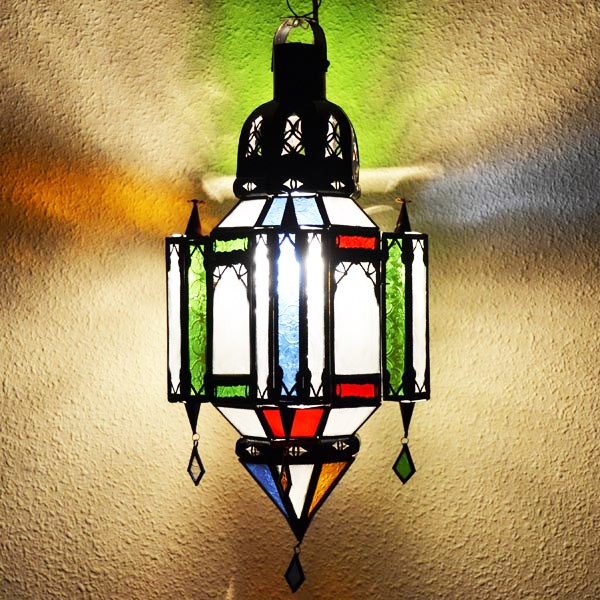 Lamparas de techo artesanales arabes y marroquies - Luz Arabe