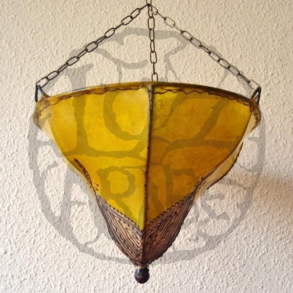 Ceiling Lamp Shades At Next: Buy Hand-painted Leather Ceiling Lamp Orchid Shape Of 40 X