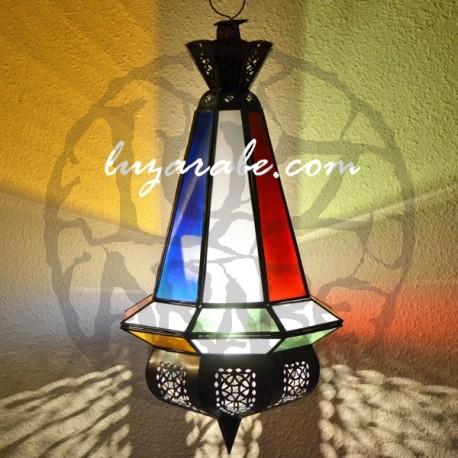 Lámpara forma pera de cristal