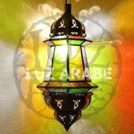 marokkanische lampe achteckige hängelampe mit zwei Kuppeln