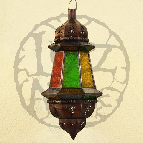 Acquista lampade marocchine ottagonale con due cupole 65 cm