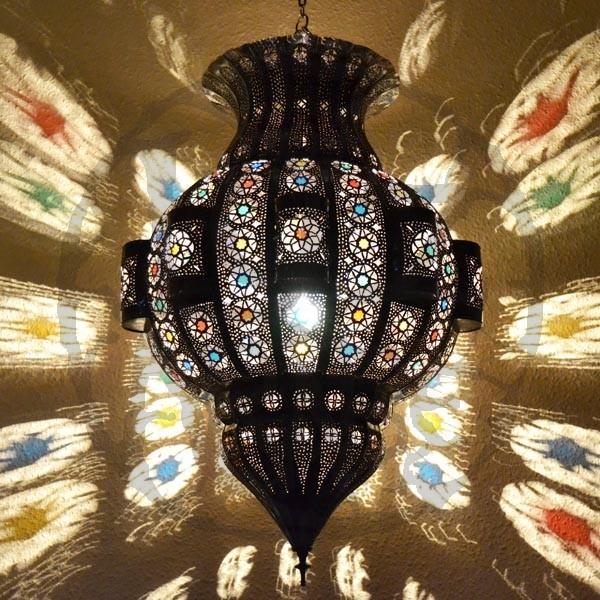 Lampadari > Grandi Lampadari Etnici > Lampade grande forma melograno ...
