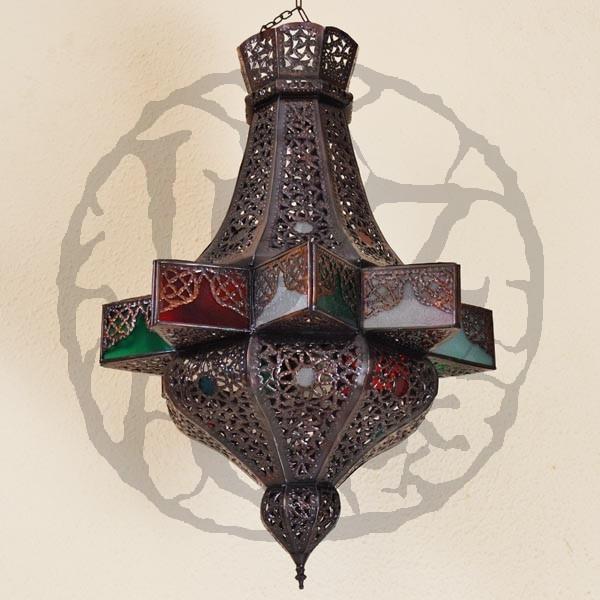 acheter lampe plafonnier forme toile octogonale en fer. Black Bedroom Furniture Sets. Home Design Ideas