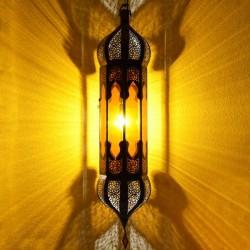 Gran lampara andalusí octagonal con dos cúpulas