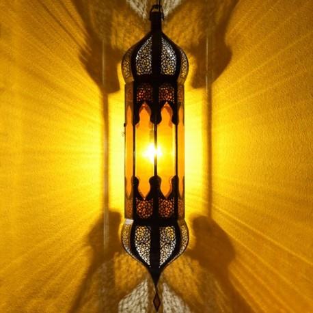 Grande lampadario ottagonale andaluso con due cupole