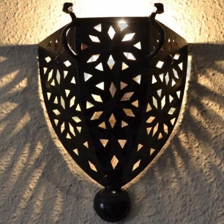 Aplique de ferro projecto estilo medieval com alças