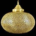 Lustre marocain en cuivre