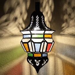 Lámpara árabe forma bellota