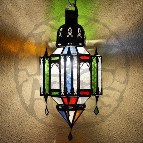 Andalusian lamp with trims