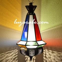 Lampe arabe de forme poire