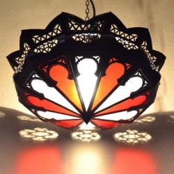 Deckenleuchte schattierung aus bicolor glas
