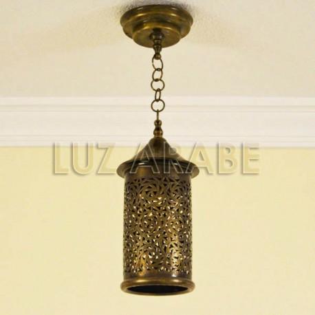 Marocain Laiton Lampe Forme Cylindre Suspension En De ybf7gY6