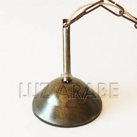 Bronze electric pendant