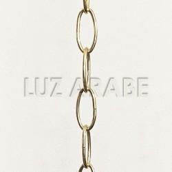 Golden lamp chain