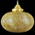 Brass Moroccan Ceiling Lamps