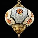 Lamparas turcas de mosaico